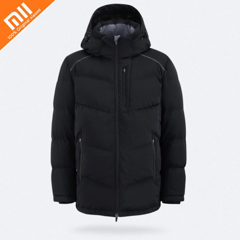 Original xiaomi mijia MITOWN LIFE Knitted Sling Down Jacket Windproof Warm Waterproof Winter Jacket Men's Coat Down Jacket HOT men s knitted jacket