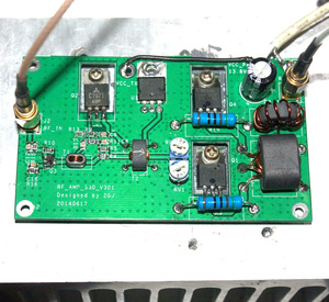Image 1 - 45W SSB לינארי מגבר כוח עבור משדר HF רדיו בגלים קצרים רדיו HF FM CW חזיר קצר גל 3 28MHz
