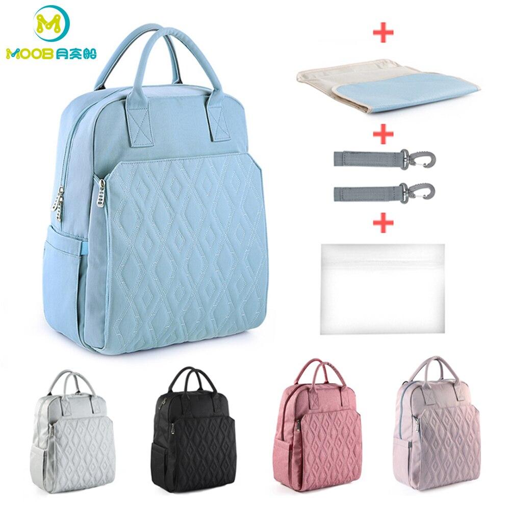Sac à dos pour mamans bébé changement Nappy sac poussette grande capacité maternité sac à couches pour bébé imperméable voyage sacs à couches