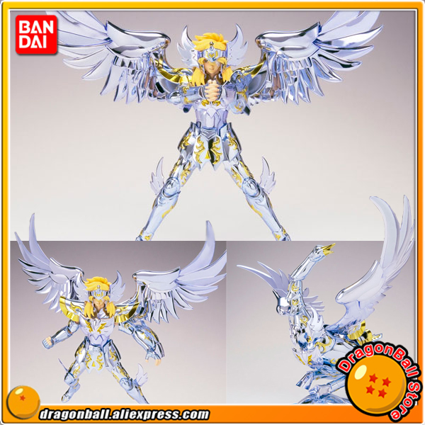 "Japan Anime ""Saint Seiya"" Originele BANDAI Tamashii Naties Saint Doek Mythe Action Figure Cygnus Hyoga God Doek-in Actie- & Speelgoedfiguren van Speelgoed & Hobbies op  Groep 1"