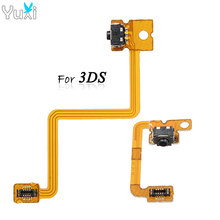 YuXi L & R Shoulder Button with Flex Cable for Nintendo 3DS Repair Left Right Switch Trigger стоимость