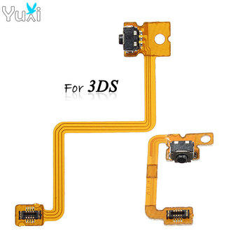 YuXi L & R Shoulder Button with Flex Cable for Nintendo 3DS Repair Left Right Switch Trigger цена 2017