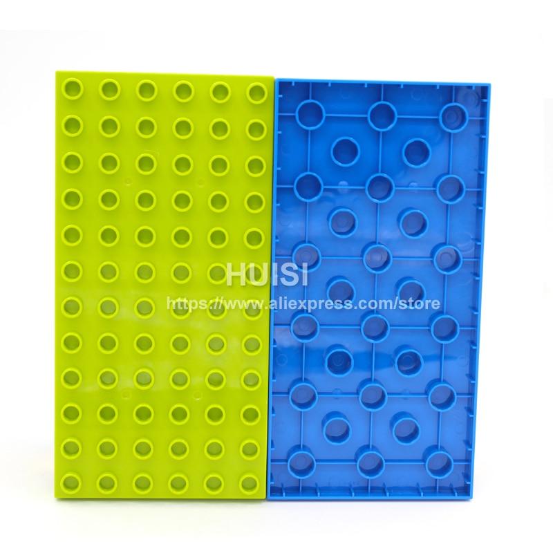 Duplo Lego համատեղելի երեխաների համար DIY - Կառուցողական խաղեր - Լուսանկար 6