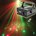 Laser Light Projector RG 12 Patterns Red Green Wedding Stage Lighting Effect  DJ Disco Party Christmas Holiday Show Lights
