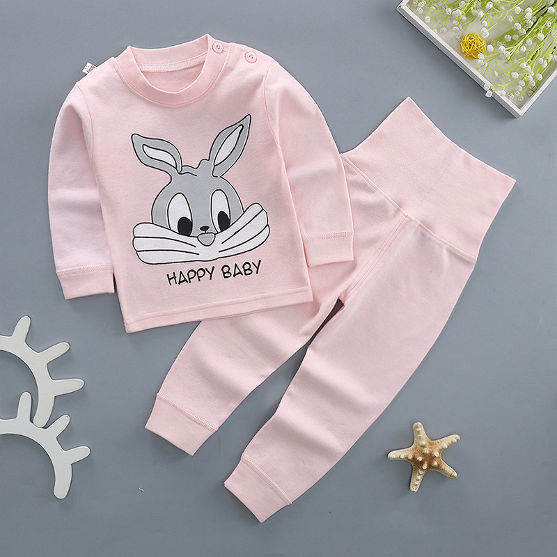 Cartoon Baby Clothes Set Cotton Newborn Baby Girl Boy Clothing Long Sleeve cotton T Shirt +Pant 2pcs Suits winter Infant Outfit