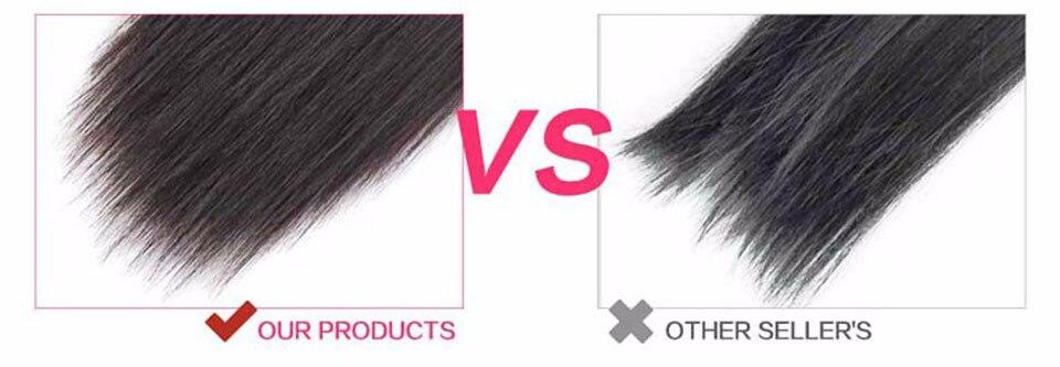 Grampo em extensões do cabelo 8 pces