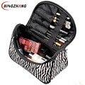 Profesional Bolsa de Cosméticos de Gran Capacidad de la Mujer Portátiles Maquillaje cosmético bolsas de almacenamiento de bolsas de viaje L4-1075