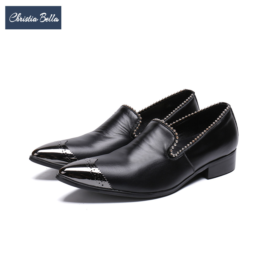 Christia Bella British Style Bullock Carved Men Genuine Leather Shoes Italian Party Wedding Dress Shoes Plus Size Brogue ShoesChristia Bella British Style Bullock Carved Men Genuine Leather Shoes Italian Party Wedding Dress Shoes Plus Size Brogue Shoes