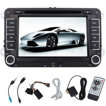 """100%  Android 2 din GPS Car DVD Universal  for Volkswagen 7"""" HD Cap Touch Screen Car Stereo Audio  Bluetooth WiFi CANBUS"""