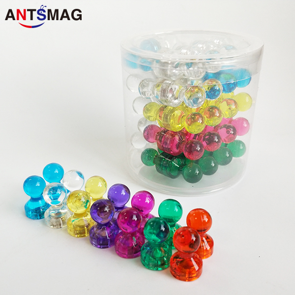push pin magnets 60 pack colorful magnetic push pins magnetic