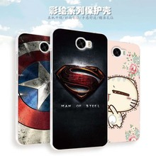 Huawei Y6 II Compact Case Cover Cartoon Plastic Transparent border Back Cover Phone Case For Huawei Y6 II Compact Y6II Compact