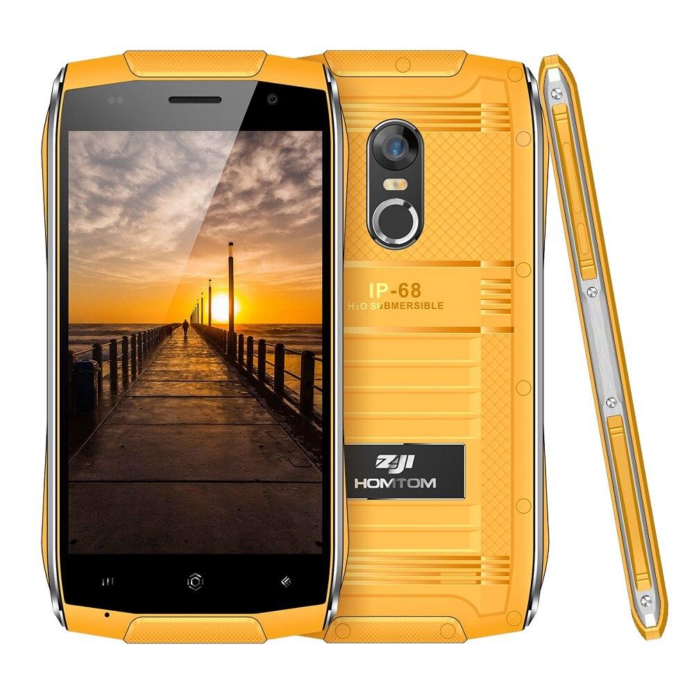 HOMTOM ZOJI Z6 Slim 4.7'' HD Screen IP68 3G Smartphone MTK6580 Quad Core Waterproof 1GB RAM 8GB ROM Android Mobile Phone 3000mAh