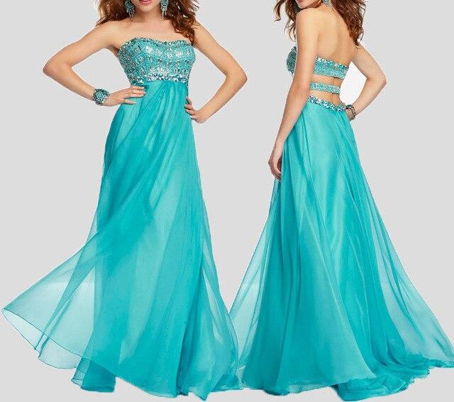 Голубой бирюзовый синий атлас для платья