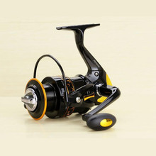 Low Price Metal Baitcasting Spinning Fishing Reel Gapless 12+1 BB 5.2:1 Speed Ratio Fishing Reel for Sea Fishing Rods 2000-9000