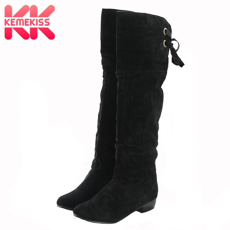 KemeKiss women flat over knee boots ladies riding fashion long snow boot warm winter brand botas footwear shoes P8672 size 30-47 90w led spot moving head lights dmx512 led moving head gobo prism function electronic focus dj spot light mini dj diso moving