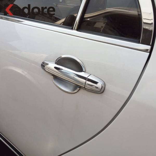 For <font><b>Toyota</b></font> <font><b>RAV4</b></font> RAV 4 2006 2007 2008 2009 <font><b>2010</b></font> 2011 2012 ABS Chrome Car Side Door Handle Covers Trim Exterior Accessories image