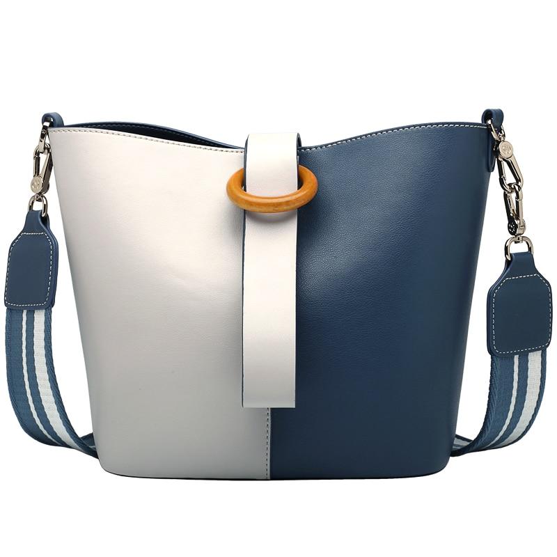 Лидирующий бренд Лоскутные женские кожаные сумочки натуральная кожа сумка для леди 2018 сумка для fashiom девочка bolsa feminin-ZF102