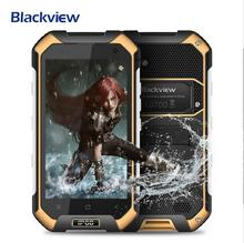 Blackview BV6000S 4G Mobile Téléphone Android 6.0 Quad Core 2 GB + 16 GB 4200 mah D'origine IP68 Étanche Smartphone Russe en stock
