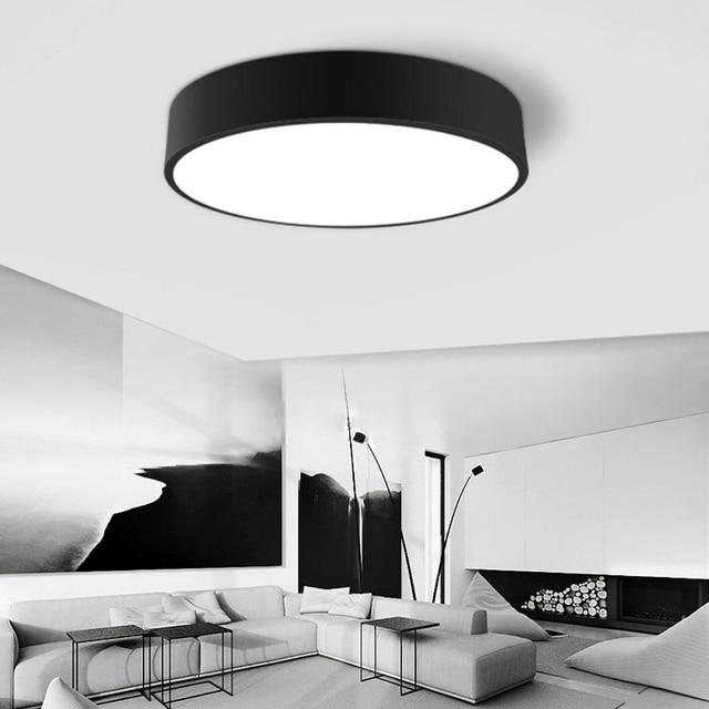 Modernas lámparas de techo led salón dormitorio de la lámpara de ...