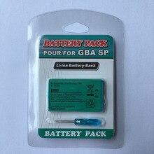 Абсолютно 3,7 в 800 мАч перезаряжаемый блок питания Замена с инструментом для nintendo Gameboy Advance GBA SP