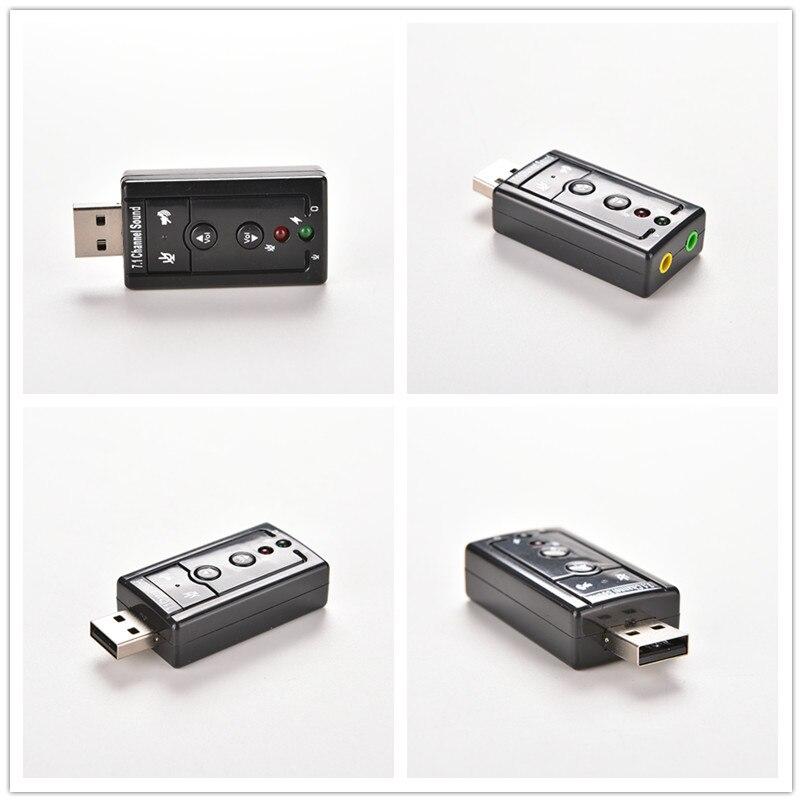 1 Pc Usb 2.0 Universal Externe Lautsprecher 3d 7,1 Kanal Audio Pc Soundkarte Adapter