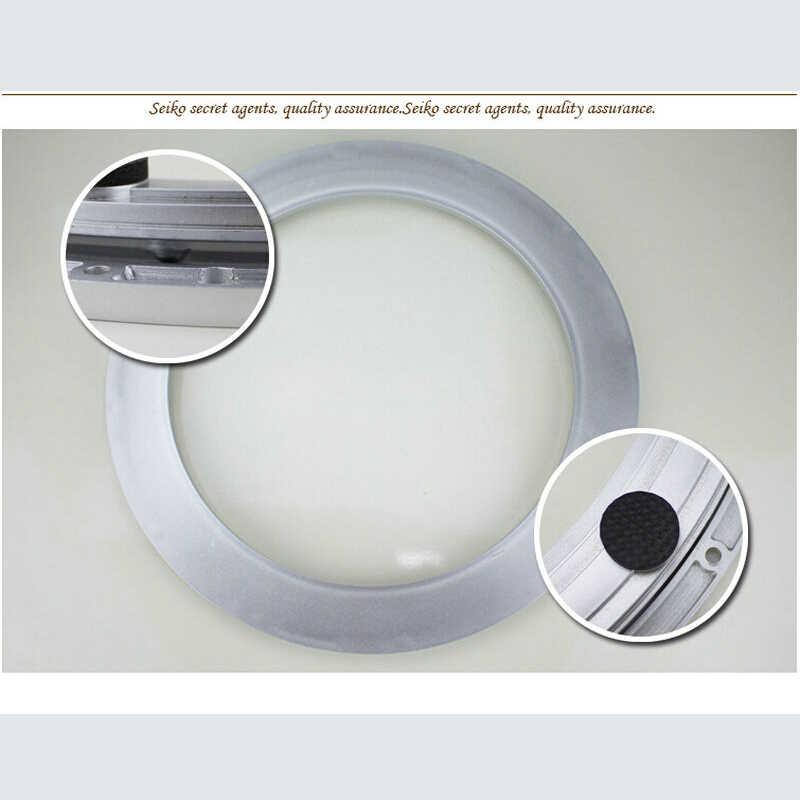35 см роскошный глушитель ABS пластик ленивый Susan поворотное основание для обеденного стола поворотный стол с шариками подшипника