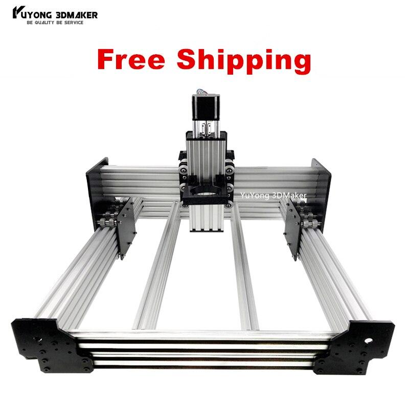 WorkBee CNC Router Machine kit WorkBee CNC Mechanical kit with 4pcs Nema 23 stepper motors
