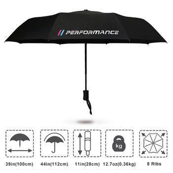 2018 Yeni şemsiye Araba Marka Logo Ile Bmw Için E46 E39 E60 E36 E90