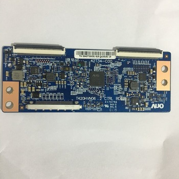 цена на Free shipping 100% original good test logic board T-con T420HVN06.2 42T34-C00 42T34 C00