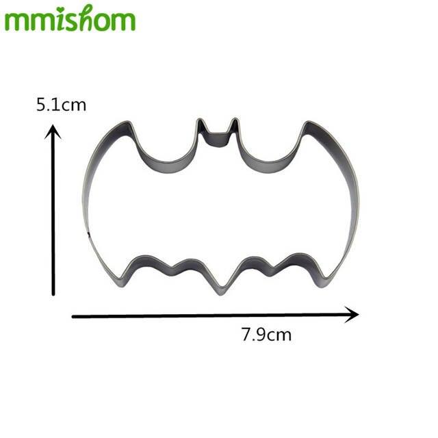 Fledermaus Batman Form Gemüse Halloween Weihnachten Dekoration Werkzeug Kek Neu