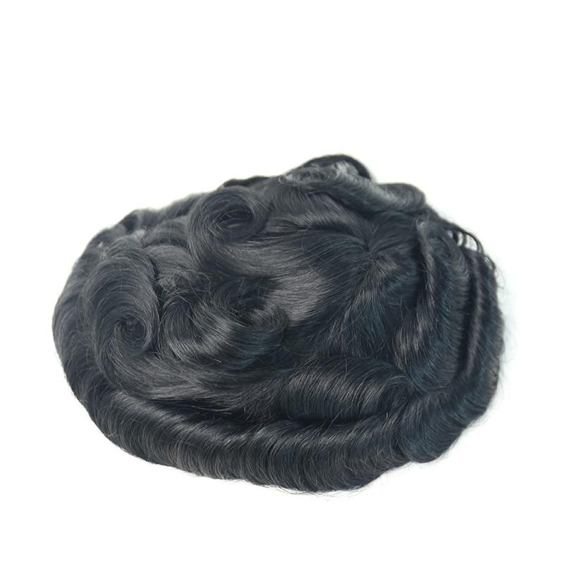 Men's Toupees Swiss Lace Strips 8X10