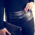 2016 de La Moda Otoño Pantalones de Las Mujeres Pliegue de Cuero de Cintura Alta Polainas Flacas Delgada Pantalones Lápiz Negro Tejida Ropa Polainas de Las Mujeres