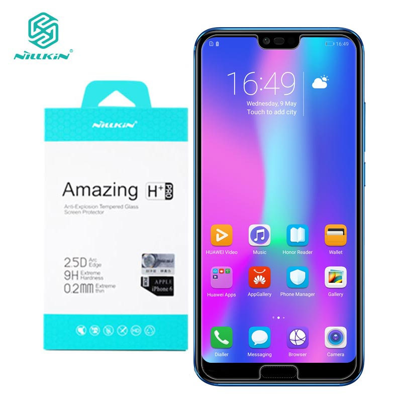 Huawei Honor 10 Glass Tempered Nillkin Amazing H+Pro 0.2MM Screen Protector Glass for Huawei Honor 10 Honor10-in Phone Screen Protectors from Cellphones & Telecommunications on