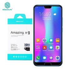 Huawei Honor 10 cristal templado Nillkin, increíble Protector de pantalla H + Pro de 0,2 MM para Huawei Honor 10 Honor10