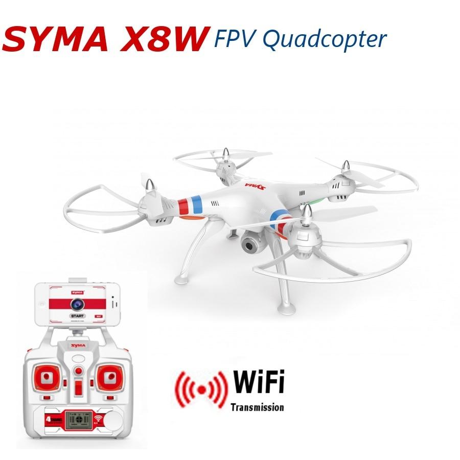 цена на Xiangtat Syma X8W Explorers WiFi FPV RC Quadcopter with 2MP Camera RTF