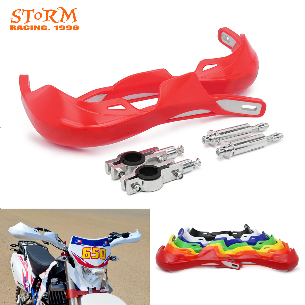 Motorcycle 22MM 28MM Handlebar Handguard Hand Guards Protector For KTM EXC XC XCW SX SXF CRF YZF WRF KXF KLX RMZ DRZ-in Falling Protection from Automobiles & Motorcycles