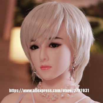 Real Oral Sex Doll Head For Silicone Sex Doll Body Sex Tools For Men TPE Heads Sex Toys from JY factory