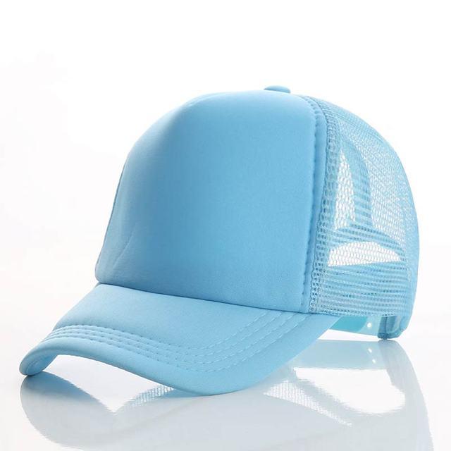 Blue blue blue Baseball net 5c64f225d8786
