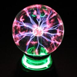 Dla dzieci czujnik ciała kula świetlna fizyka eksperyment elektrostatyczne kuli magiczna kula na prąd reakcja fizjologiczna