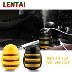 LENTAI Авто Мини рюкзак с изображением пчелы, увлажнитель воздуха, освежитель воздуха для укладки для Nissan Juke Tiida Subaru Ford mondeo mk4 mk3 Opel corsa zafira b