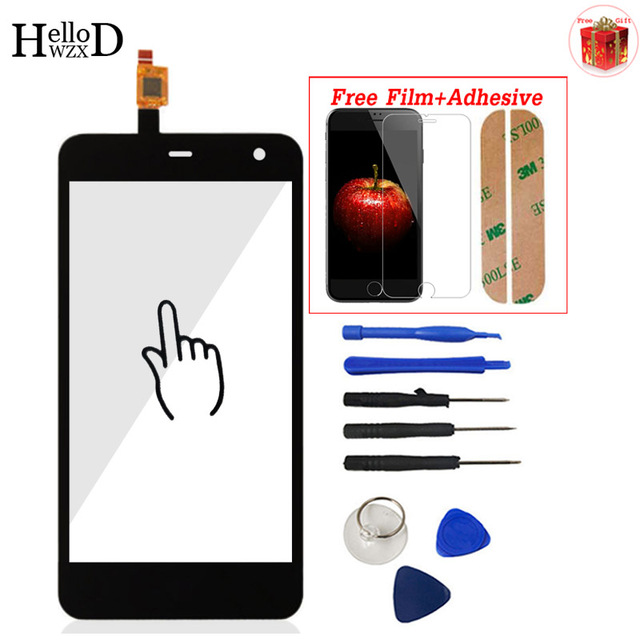5.0 For ZTE Blade A465 Mobile Phone Front High Touch Screen Touch Glass Digitizer Panel Lens Sensor Capactive + Screen Protector