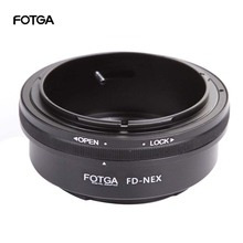 Anel adaptador de lente fotga, para canon fd fl lente para sony e mount NEX C3 NEX 5N NEX 7 NEX VG900
