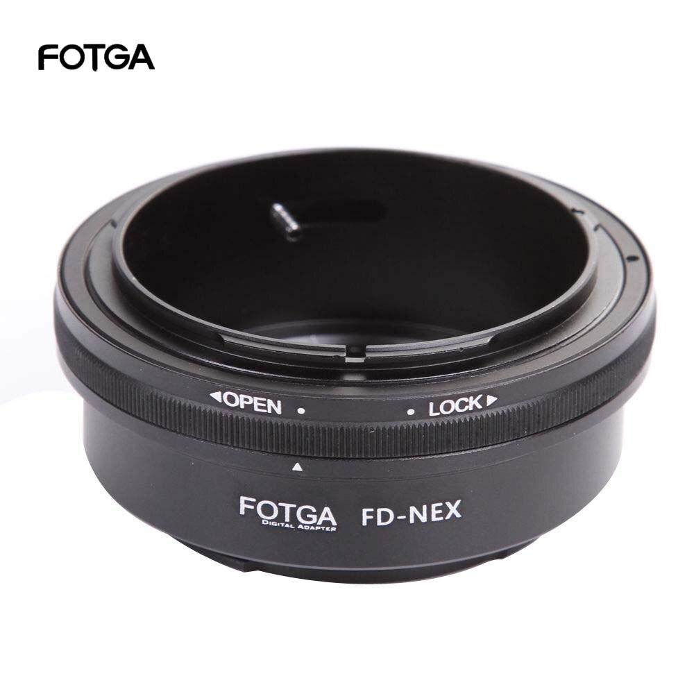 Lente fotga adaptador anel para canon fd fl lente para sony e montagem NEX-C3 NEX-5N NEX-7 NEX-VG900