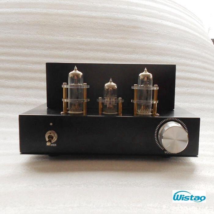 Mini amplificateur à Tube unique classe A 6N2 préamplificateur 6P1 Power Stage 2x3.5 W naturel doux élégant PCB version HIFI Audio