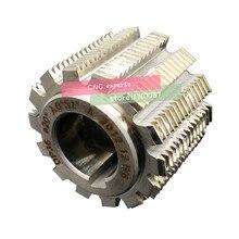 1PCS DP8/DP9/DP10/DP11/DP12/DP14/DP16/DP18/DP20/DP22/DP24 PA20 degrees  HSS Gear hob Gear cutting tools Free shipping