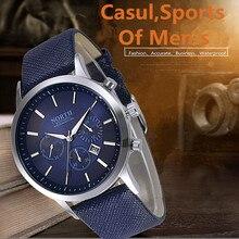 NORD Relogio Masculino Mode Montres Hommes Célèbre Marque Montre Sport Quartz Montre-Bracelet De Luxe montre Homme D'affaires