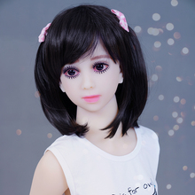 2016 lifelike sex doll 100cm,real vagina/anal sex doll for adult,full solid tpe mini love doll with skeleon