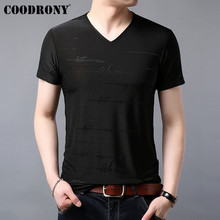 COODRONY T Shirt Men Fashion Design Short Sleeve T-Shirt Summer Streetwear Casual Cotton Top Tee Mens T-Shirts S95063