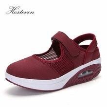 Hosteven Women Shoes Casual Sport Flats Fashion Sneaker Walking Spring Summer Autumn Loafers Air Mesh