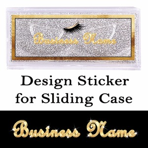 Image 1 - Design and Print Transparent Stickers for Sliding Case Rectangle Clear Sticker on the Top of Cover